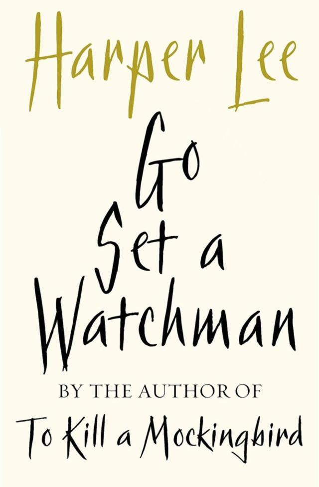 The cover of Harper Lee's new novel Go Set a Watchman scheduled for release on July 14 2015.